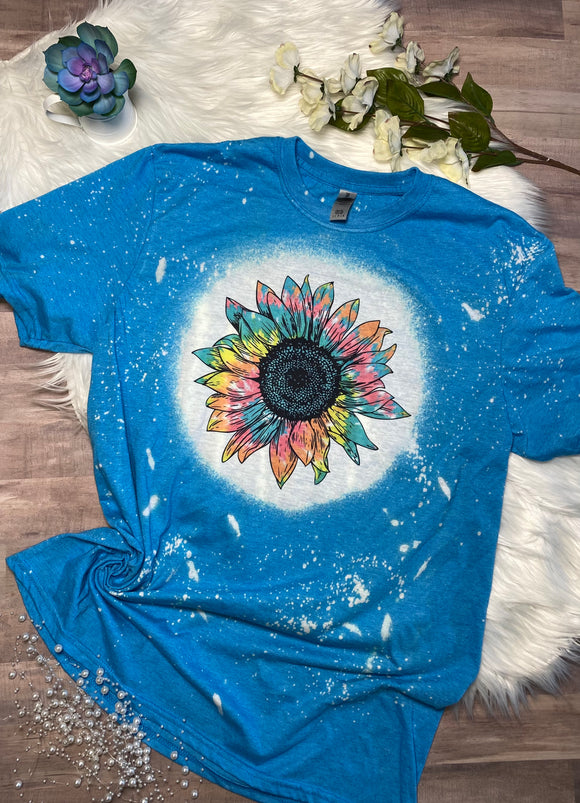 Tie Dye Sunflower T-Shirt