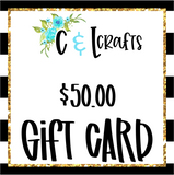 C and L Crafts Gift Card