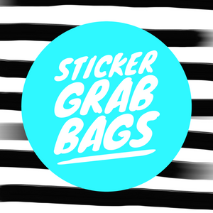 Sticker Kit Grab Bag -15 sheets
