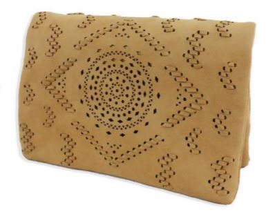 ETCHED LASER DESIGN CROSSBODY BAGs in nude by street level