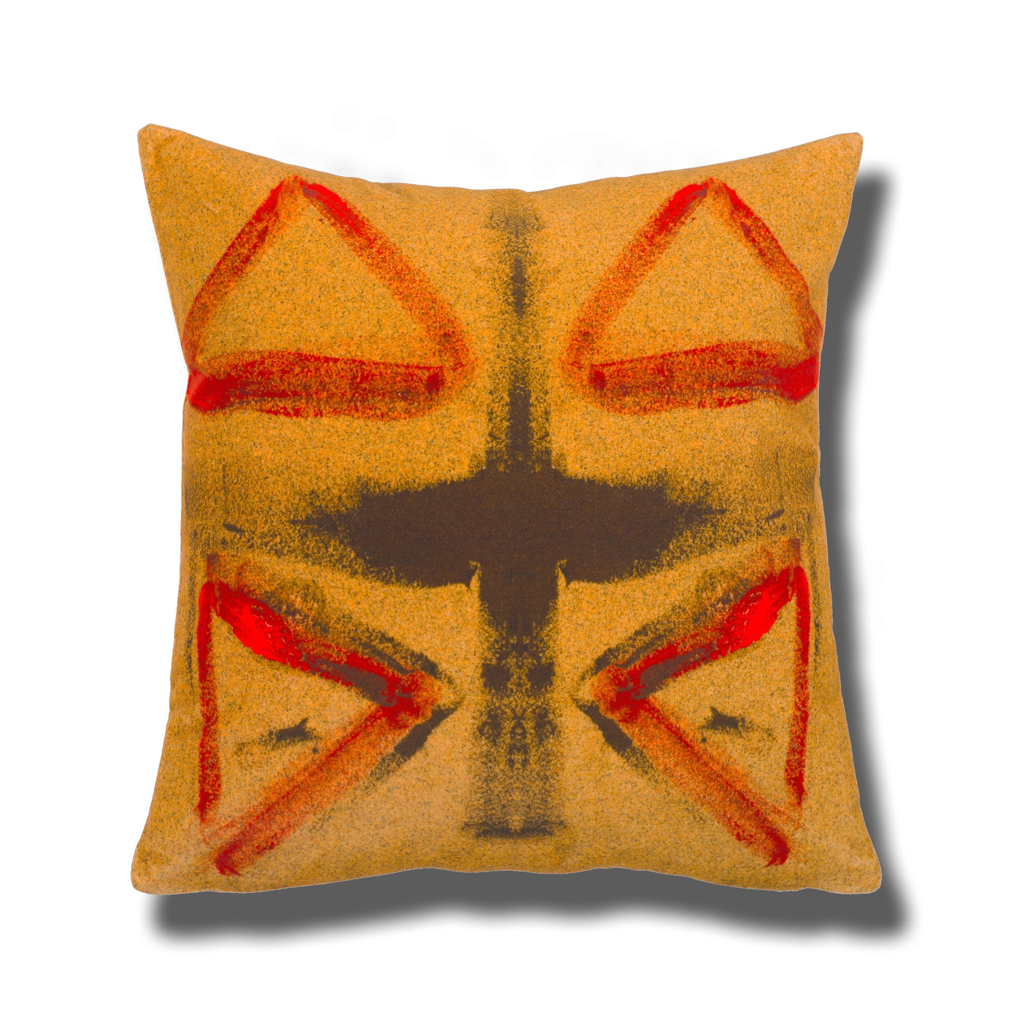 FifteenFifteen, Fiest, luxury cushions, cheap pillow, affordable designer cushion, English design, made in London, buy discount cushions online, London designer, budget cushions, multicoloured cushion, multicolored pillow, scatter pillows online, square cushion, 45cm, online décor store, home furnishing,  crescendo collection, indigo, red cushion, exposed zip, silk cushion, velvet cushion, living room cushion, bedroom cushion, arm chair cushion, eclectic style, tribal design, décor website