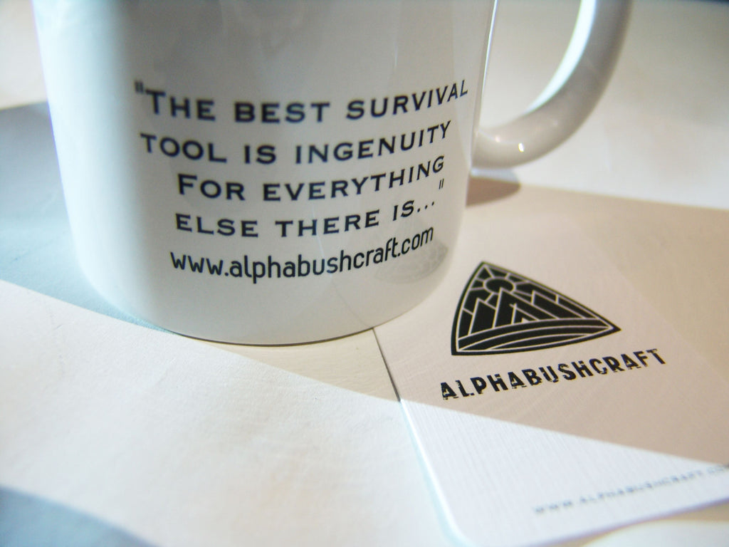Alpha Bushcraft Ceramic Mug