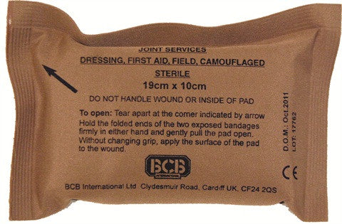 BCB Field Dressing - Alpha Bushcraft