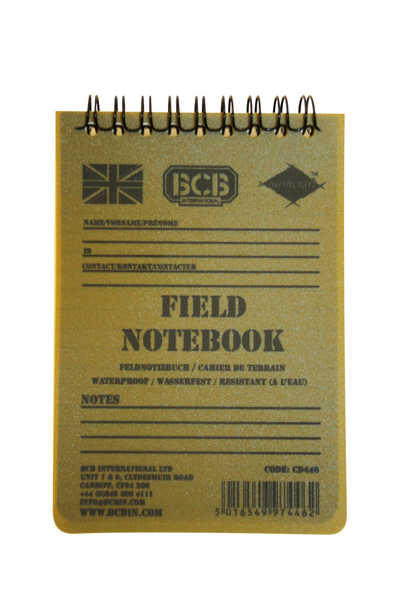 BCB Field Notebook