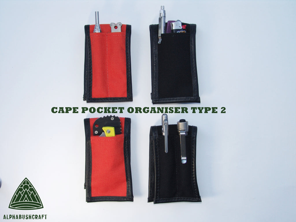 CAPE Pocket Organiser Pouch Type 2 - Signal Orange