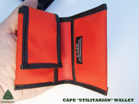 CAPE Utilitarian Wallet - Signal Orange