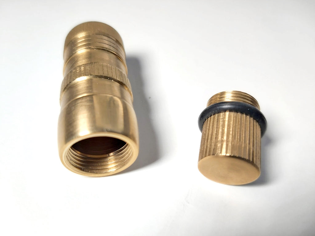 CAPE Brass Pill Case