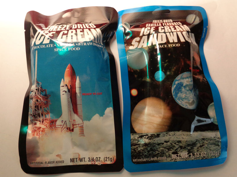 NASA Freeze Dried Space Ice Cream