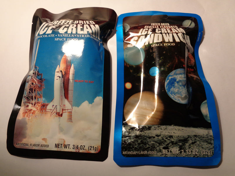 NASA Freeze Dried Space Ice Cream - Alpha Bushcraft