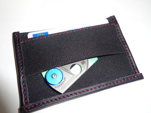 CAPE Minimalist Card Wallet with E.D.C. Pocket