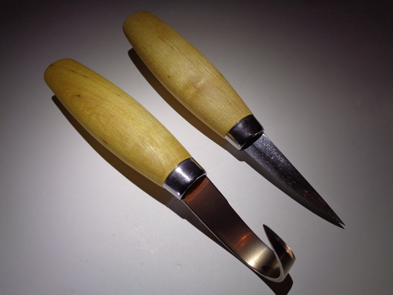 Two Piece Wood Carving and Whittling Set