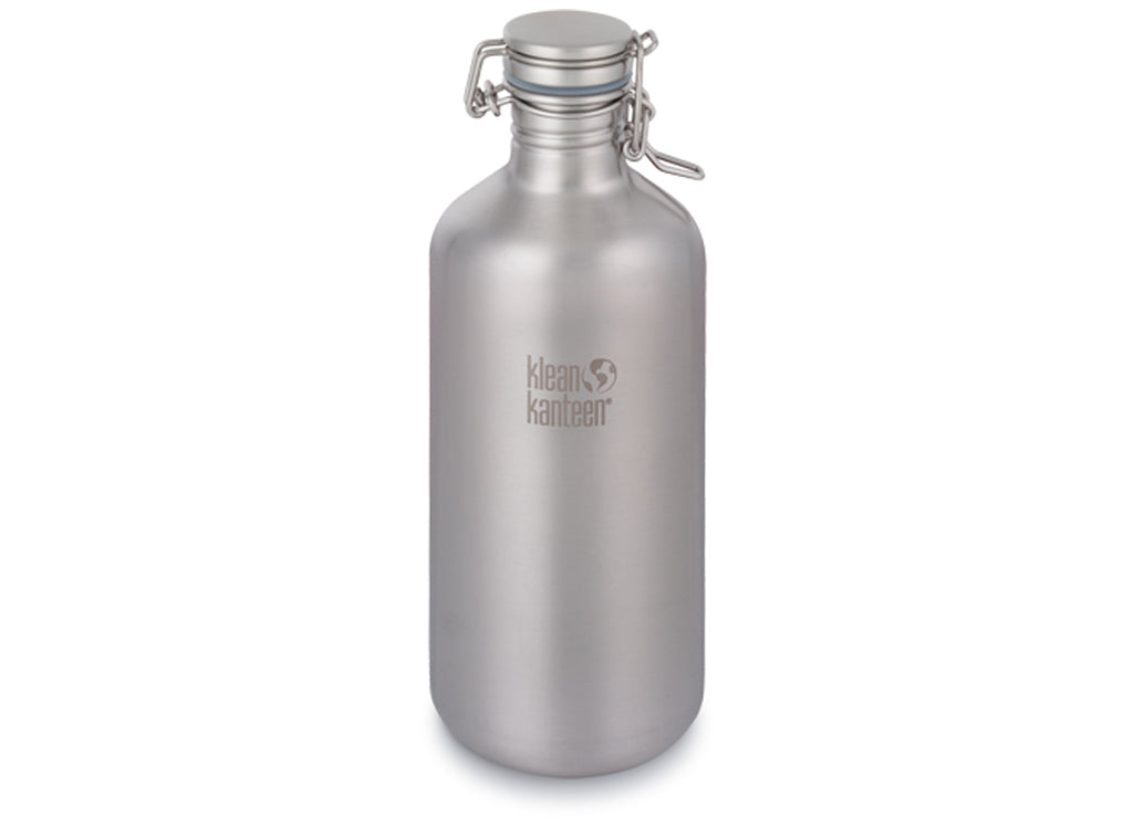 Klean Kanteen Classic Growler 1900ml Brushed Stainless Steel