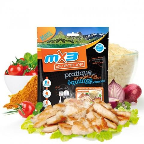 MX3 Chicken Korma Meal Pouch - Just Add Hot Water
