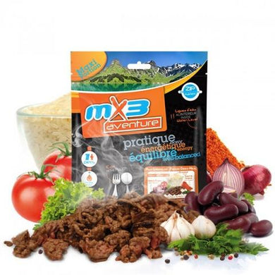 MX3 Chilli Con Carne Meal Pouch - Just Add Hot Water