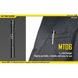 Nitecore MT06 Penlight - Alpha Bushcraft