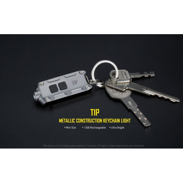 Nitecore Tip Key Ring Light - Alpha Bushcraft