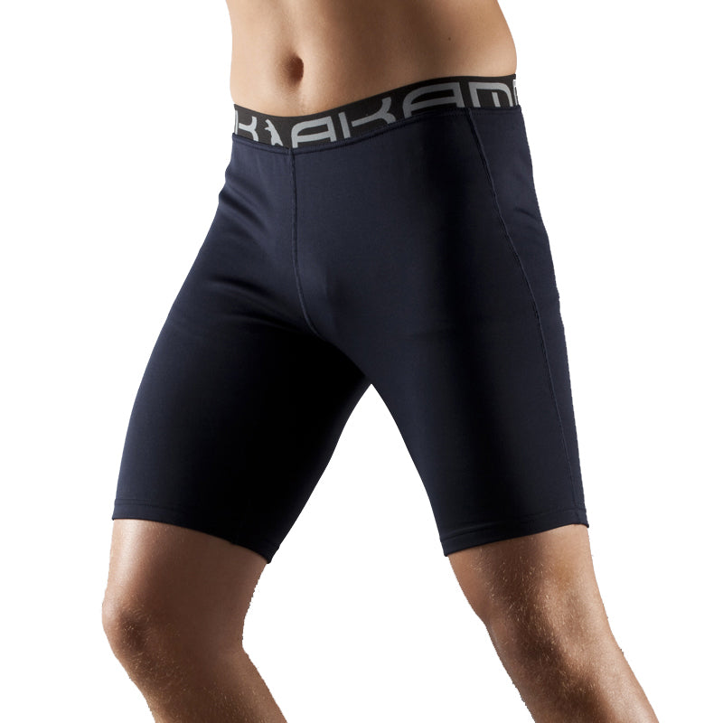 Oka Black Thermoregulator Baselayer Shorts by Akammak