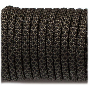 Genuine Mil Spec Type III 550 Paracord - Black Snake