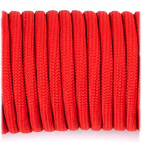 Genuine Mil Spec Type III 550 Paracord - Red