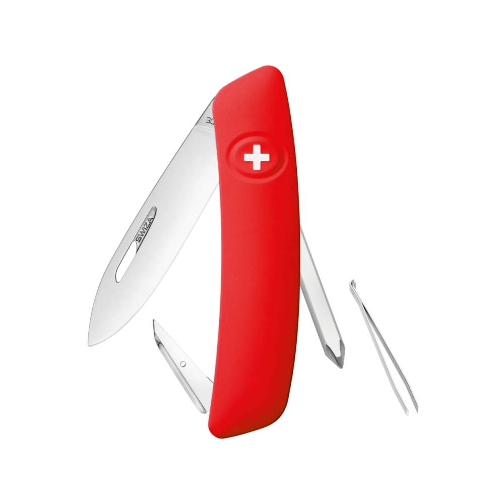 Swiza D02 Red Swiss Lock Knife Multitool
