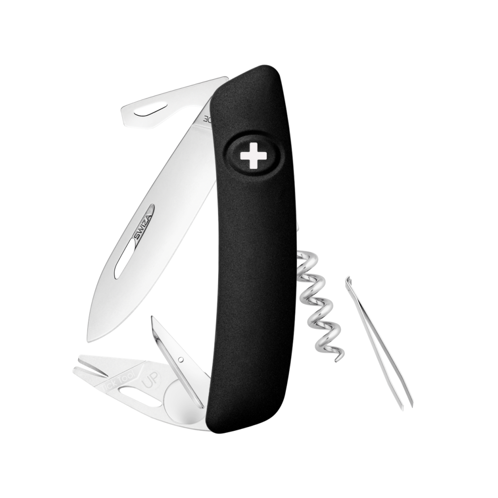 Swiza TT03 Black Swiss Lock Knife Multitool