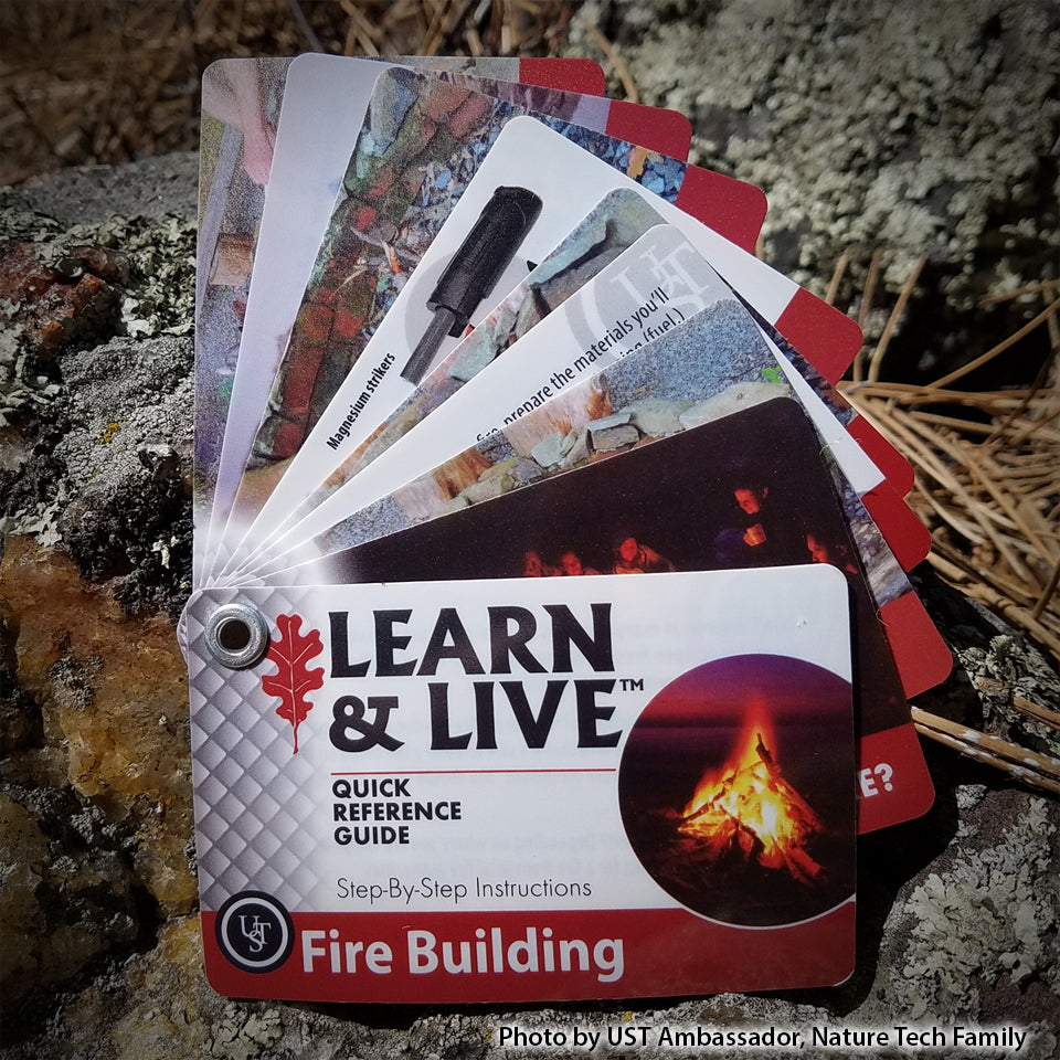 Fire Building Cards - Learn and Live UST