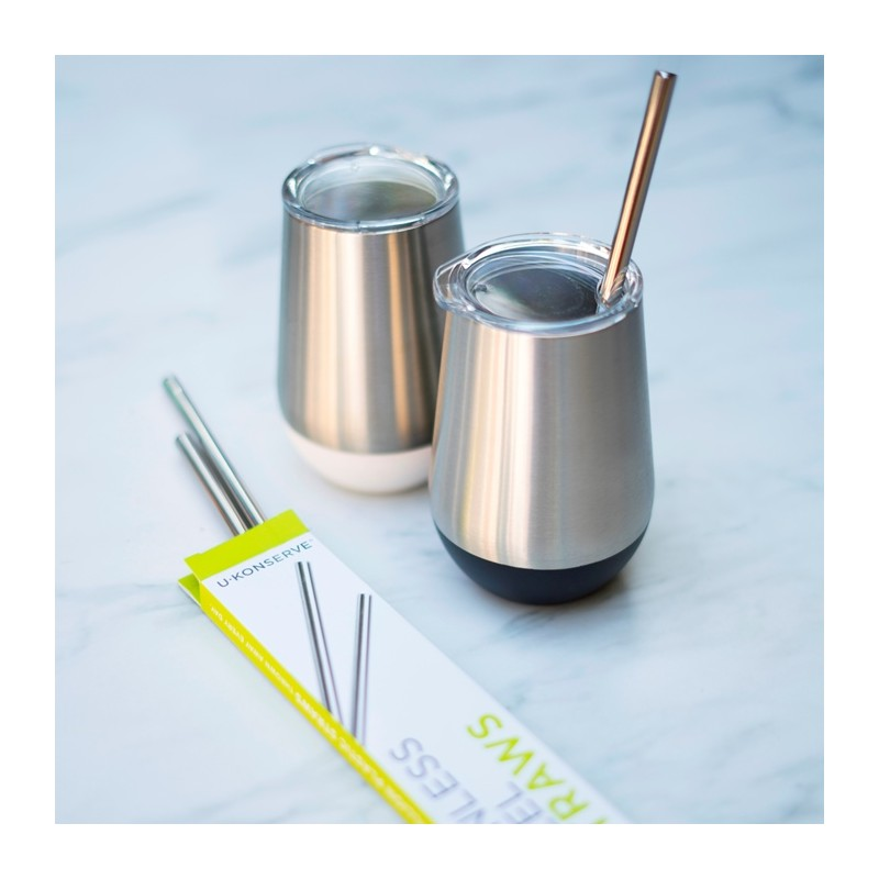 U Konserve Stainless Steel Straw Twin Pack