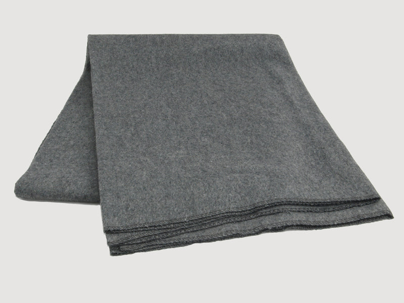 Wool Army Blanket - Grey