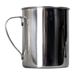 Zebra Large Stainless Steel Mug - Alpha Bushcraft