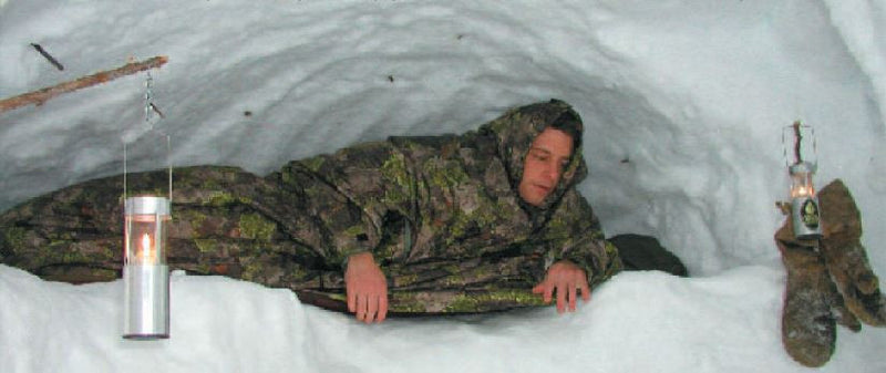 Jervenbag Thermo Hunter (Mountain Camouflage)