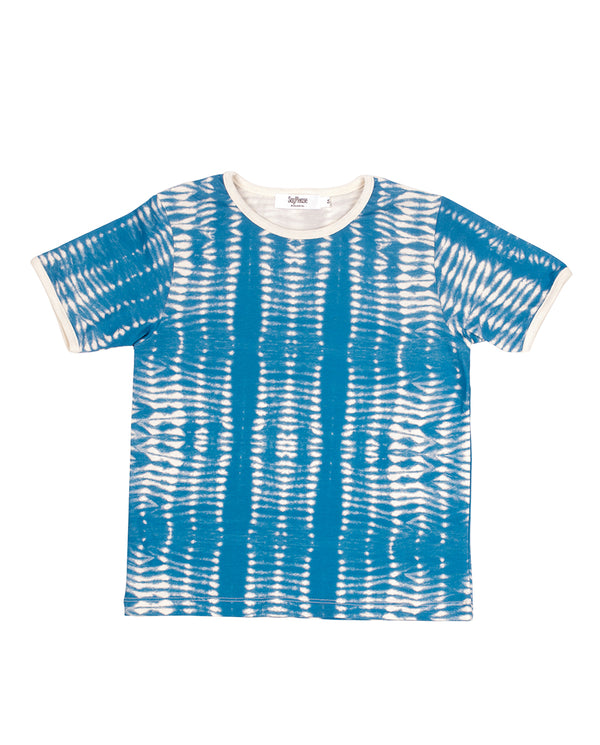 Camiseta tie dye color azul