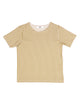 Camiseta rayas color crudo y khaki
