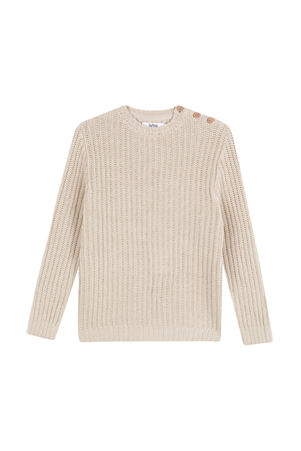 Jersey tricot creme brulee