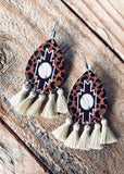 The Borger Earrings in Ivory