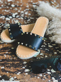 The Runaway Bay Sandals in Black