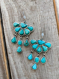 The Goliad Turquoise Earrings