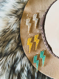 The Creedmoor Lightning Bolt Earrings (3 colors)