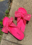 The Fort Worth Sandal in Pink
