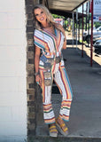 The Melissa Jumpsuit in White