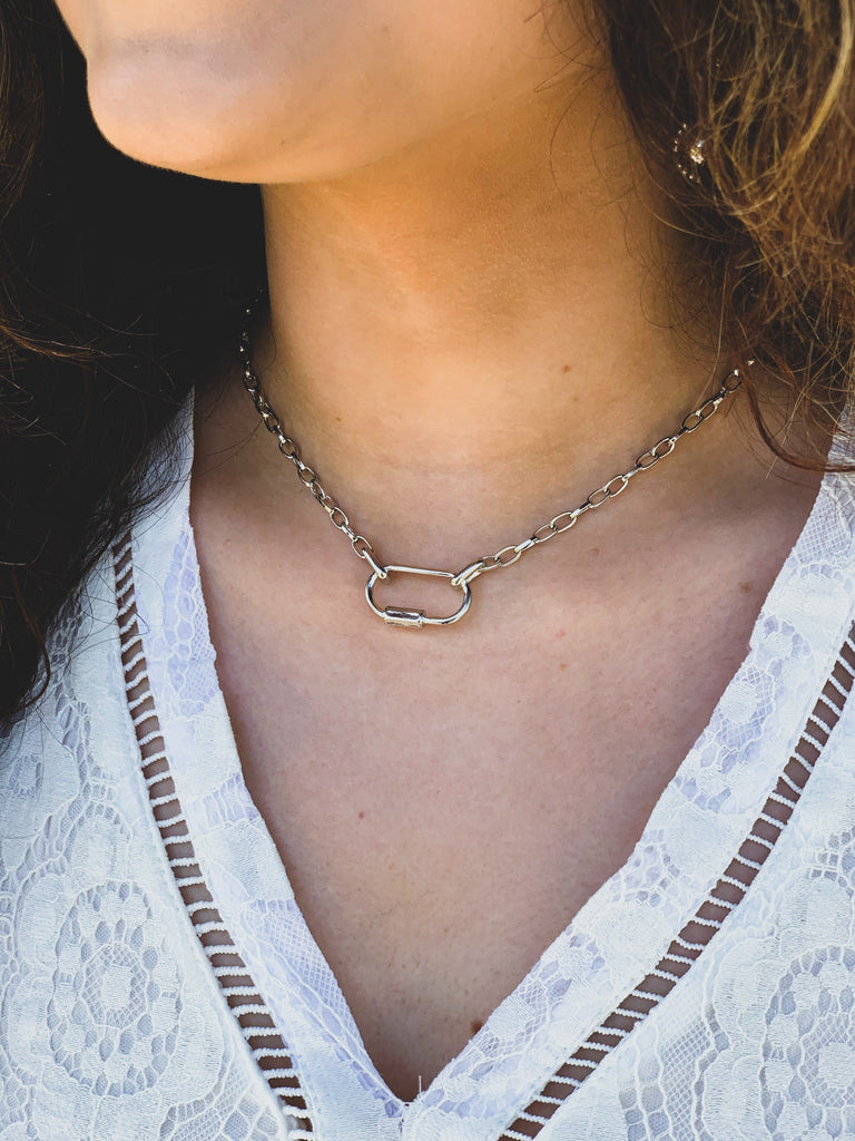 The Lott Necklace in Silver