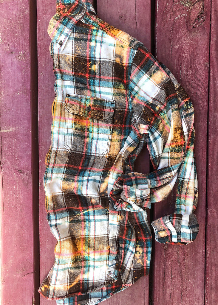 The Wink Flannel (6 Colors) (S-2XL)
