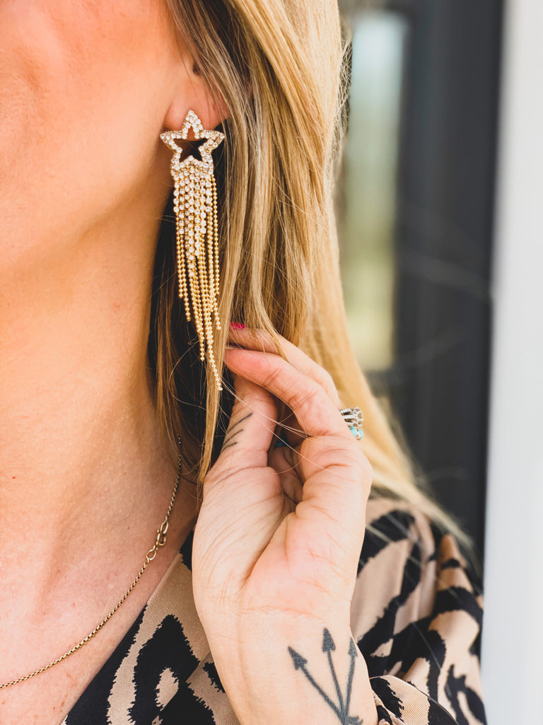 The Sterling City Earrings in Gold