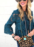 The Glen Rose Top (2 Colors) - Gypsy Waltz