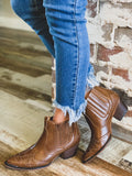 The Stockdale Boots in Whiskey