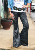 The Saint Jo Bell Bottoms Black