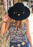 The Stage Coach Hat in Black