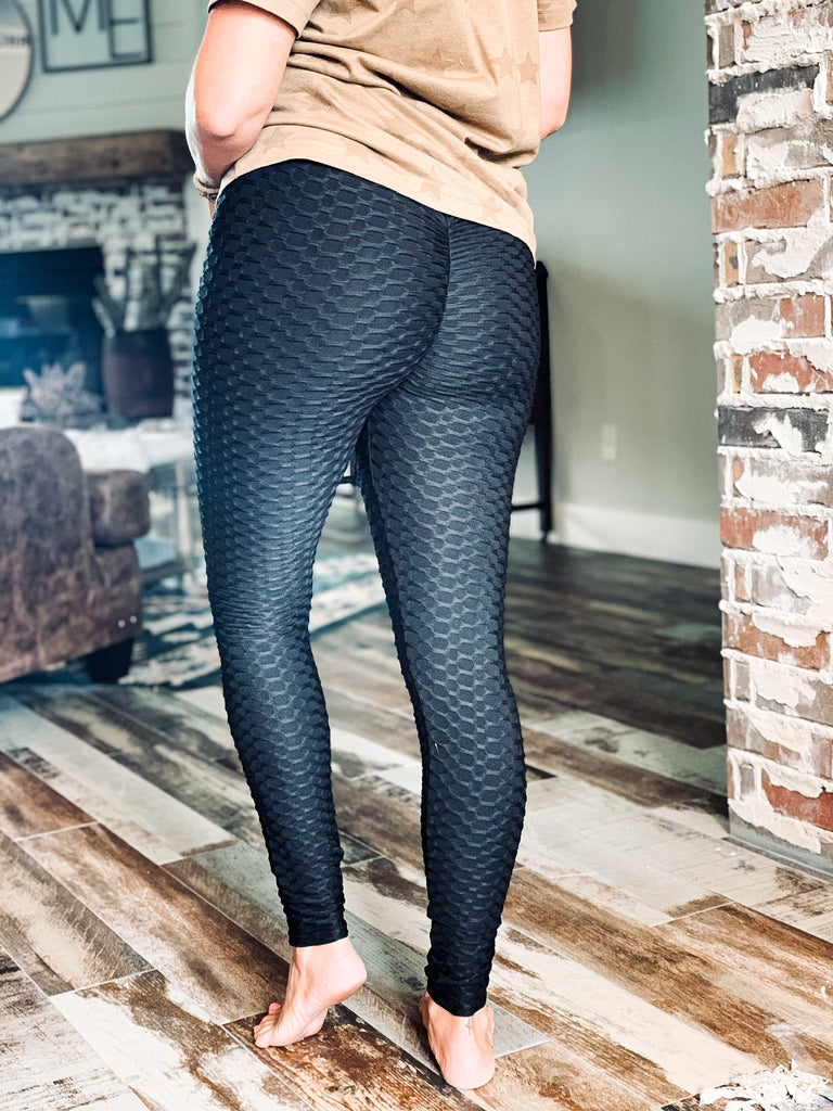 The Ore City Leggings in Black