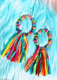 The Bloomburg Earrings in Rainbow