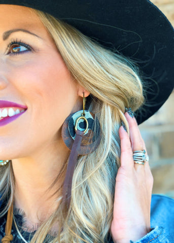 The Stephenville Earrings