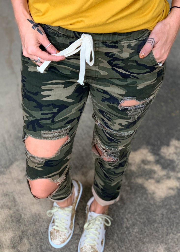 The Kosse Camo Pants - Gypsy Waltz